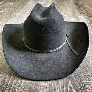 JOHN B. STETSON | Black 4X Beaver Ranch Cowboy Hat
